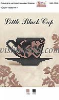 """Схема для вышивки бисером А5 """"Маленька чорна чашка"""""""