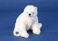 Hansa Медведь белый детеныш сидящий 24 см