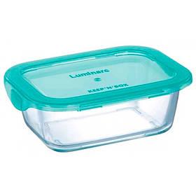 Емкость прямоугольная для еды 820 мл Luminarc Keep`n Box Lagoon 5518P LUM
