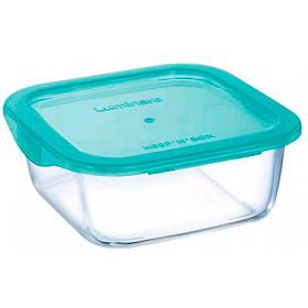 Емкость квадратная для еды 720 мл Luminarc Keep`n Box Lagoon 5521SP LUM