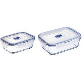 Набор емкостей Luminarc Pure Box Activ для еды прямоугольных 820 мл 1220 мл P5505 LUM