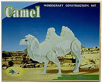 Верблюд - сборная 3Д модель (3 пластины)