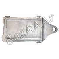 Заслонка печная, алюминиевая (шибер) 230х125