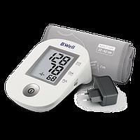Тонометр Автоматический измеритель артериального давления B.Well PRO-33 манжета M-L с чехлом и адаптером