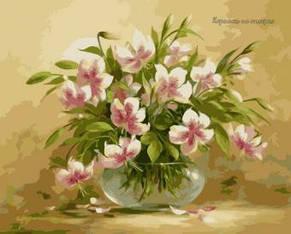 Картина раскраска по номерам цветочная нежность , фото 2