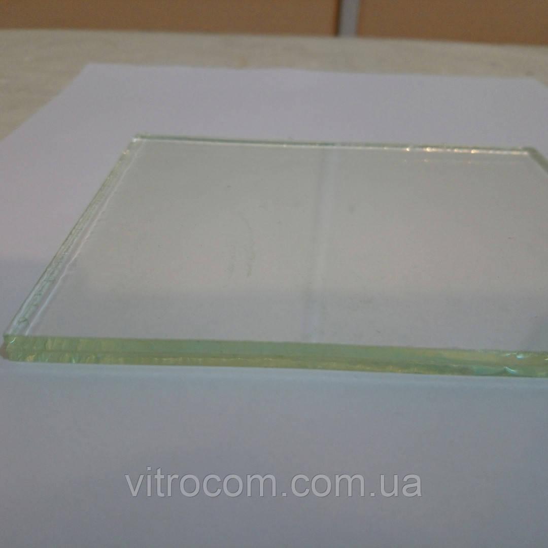 Стекло ламинированное триплекс 4-4-1 бесцветное с прирезкой