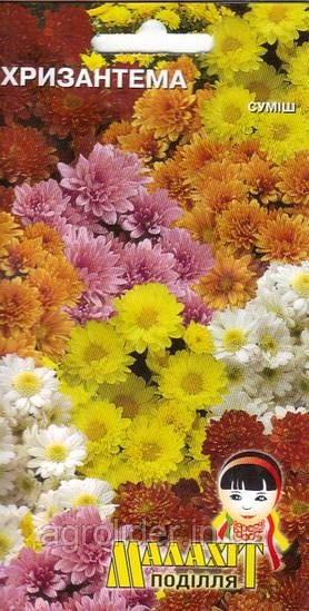 Семена цветов Хризантема 0.5 (Малахiт Подiлля)