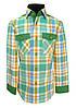 Рубашка детская в яркую клетку №12.2  37006 V1