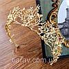 Діадема весільна тіара Лея, прикраси для волосся, фото 10