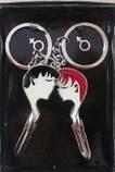 Брелки для влюленных Половинки сердечки, фото 3
