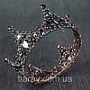 Корона круглая на голову, корона на голову КАМЕЛИЯ, украшения для волос, фото 3