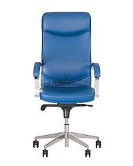 Кресло для руководителя Вега (Vega) steel chrome Новый Стиль LE-A
