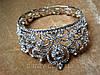 Набор свадебный корона и серьги Теона диадема для волос, Весiльнi прикраси, прикраси для волосся, фото 9