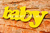 "Табличка ""Baby"""