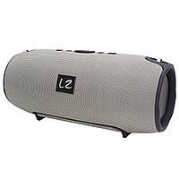 Колонка портативная LZ Xtreme Bluetooth FM MP3 AUX USB microSD Grey (2949-10318)