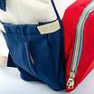 PODIUM Сумка Женская Рюкзак нейлон Lanpad D900 coral whine blue, фото 4