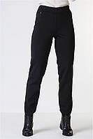 Женские брюки лосины трикотаж алекс / высокая посадка / черные VS 1000, фото 1