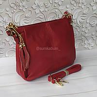 Женская сумочка, натуральная кожа, фото 1