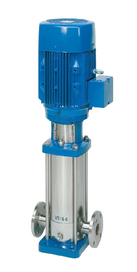 Вертикальный многоступенчатый насос из нержавеющей стали Speroni VS  4-4