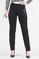 Женские брюки лосины трикотаж алекс / высокая посадка / черные VS 1002, фото 1