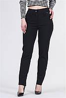 Жіночі брюки жіночі трикотаж алекс / висока посадка / чорні VS 1012, фото 1