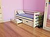 Детская деревянная кровать -Соня. Массив сосны., фото 2