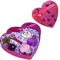 Подарочный набор женский Jesou в Сердце № 33 Розовый