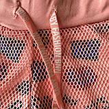 Летние персиковые шорты на девочку . Размеры 92 см, 104 см, 110 см, фото 2