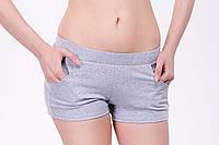 Женские спортивные шорты из плотного трикотажа двунитка , фото 1