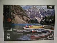 Пазлы 500 элементов национальный парк Канада. Пазлы картонные природа.