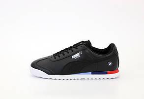 Мужские кроссовки Puma Roma BMW black. [Размеры в наличии: 41,42,43,44]