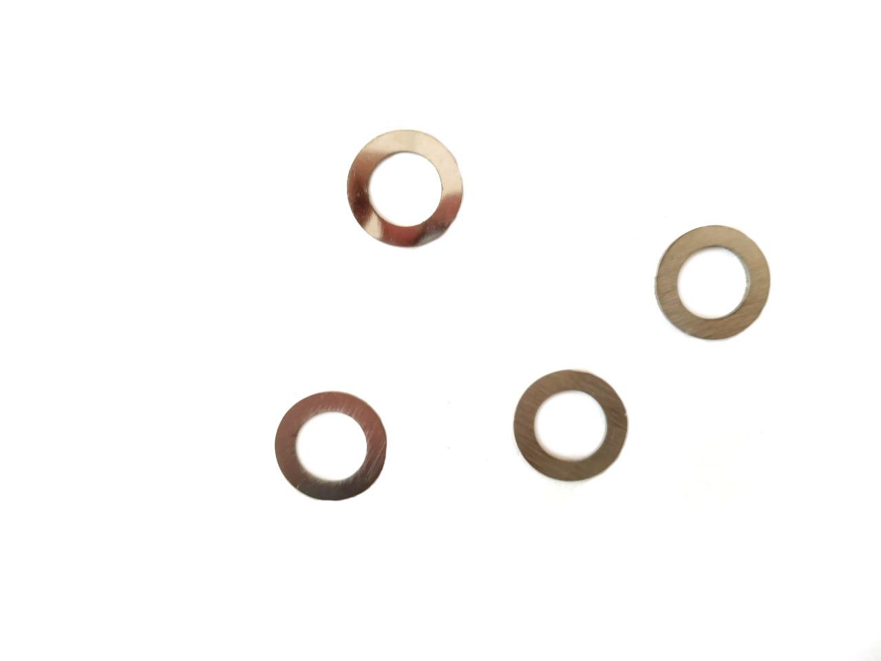 Шайбы тюнинга вариатора переднего Honda DIO AF-18, TACT AF16 4шт 0.8/1.0/1.2/1.5mm VLAND