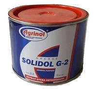 Смазка Солидол Ж-2 банка 0,4кг
