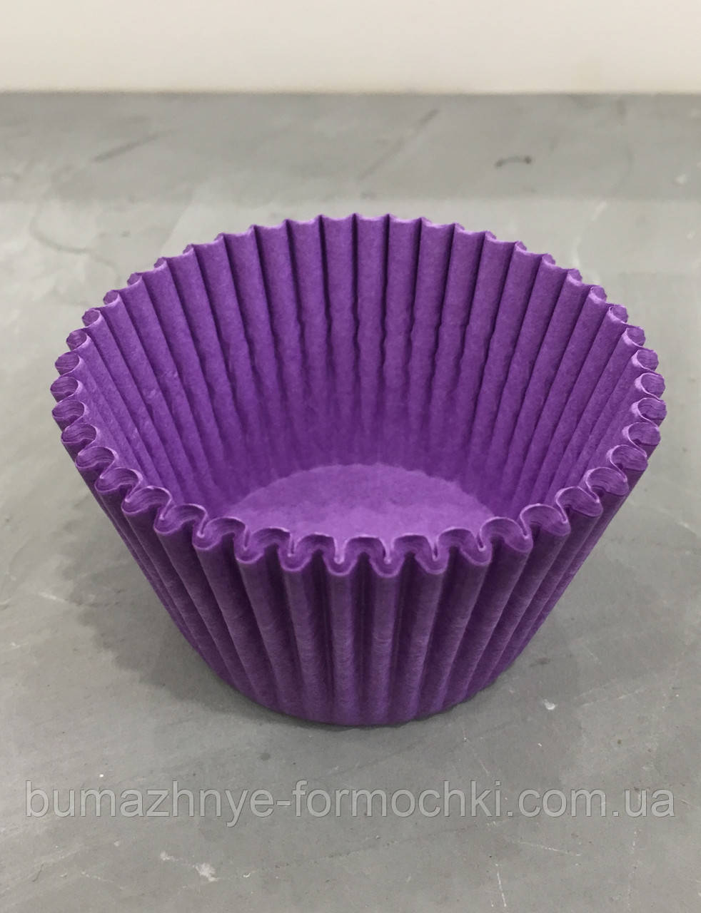Фиолетовые формочки для кексов и маффинов, 55х35