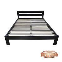 Кровать деревянная Виктория (ДУБ щит) от производителя. Кровати из дерева. Кровать для спальни из дерева.