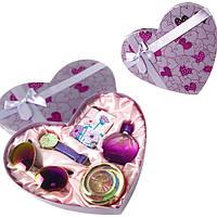 Подарочный набор женский Jesou в Сердце № 33 Фиолетовый