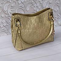 Красивая яркая сумочка из натуральной кожи