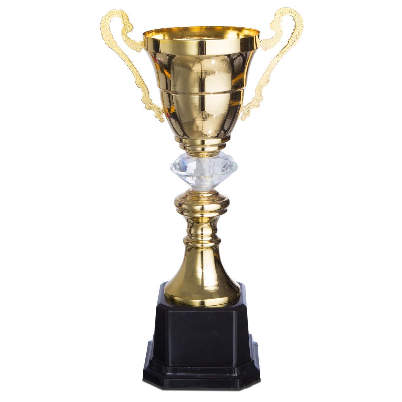 Кубок спортивний з ручками 2181C 28 см