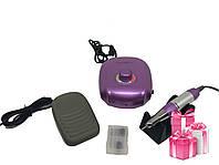 Фрезер для маникюра Nail Drill JMD-303 35000об. 60Вт Фиолетовый