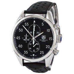Tag Heuer Carrera 1887 SpaceX Chronograph Black-Silver-Black