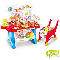 Детский игровой магазин с тележкой Fun 2в1 668-41/42