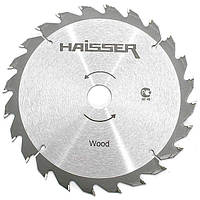 Диск пильный по дереву 185 х 20 мм, 36 зубьев Haisser (22484)