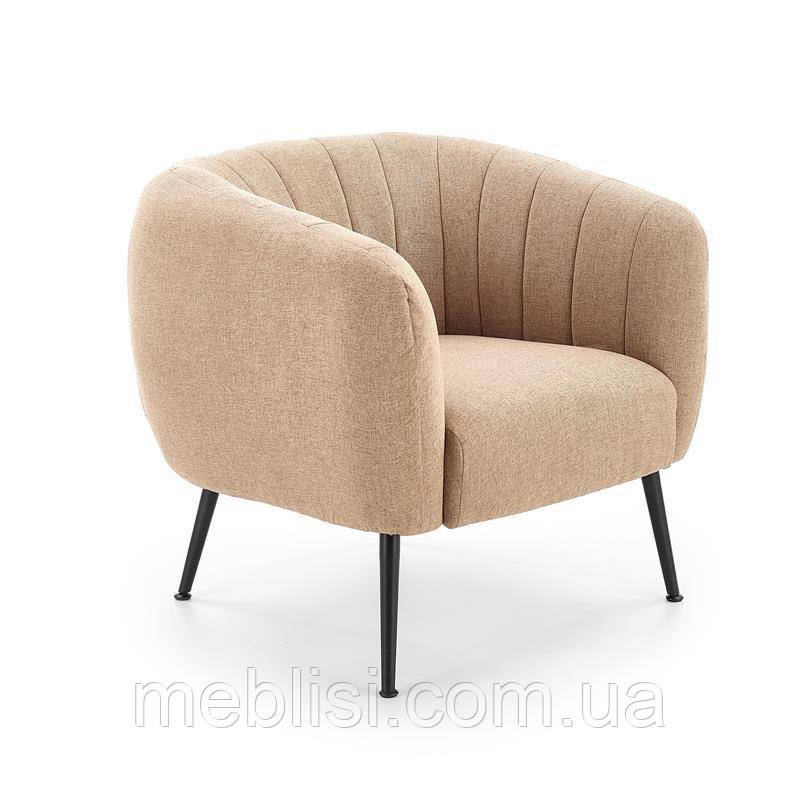 Кресло LUSSO бежевый (Halmar)