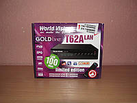 World Vision T62A LAN цифровой эфирный ресивер DVB-T/Т2/C, фото 1