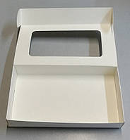 Упаковка для кондитерских изделий 220*110*40 (БІЛА)