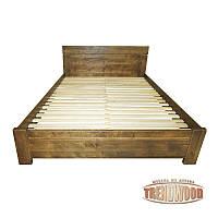 Кровать деревянная Ника (ДУБ массив) от производителя. Кровати из дерева. Кровать для спальни из дерева.