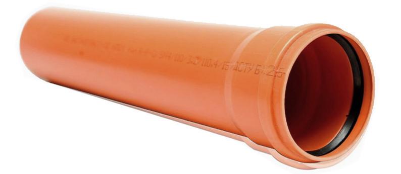 Труба 250х4.9х3м для наружной канализации(ПВХ) Мпласт