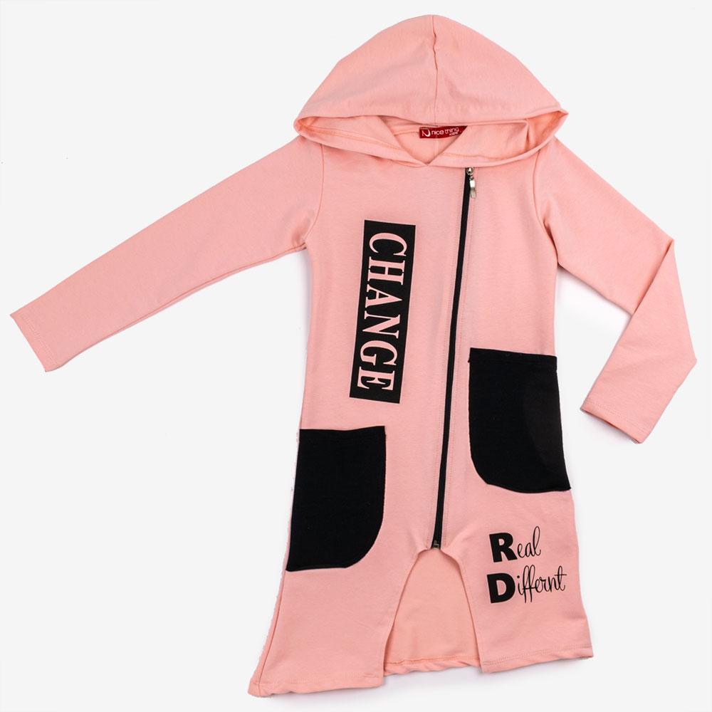 Туника для девочек Nice kids 116  розовый 820*