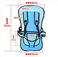 Бескаркасное детское автокресло Multi Function Car Cushion, Детское автокресло бескаркасное 9-18 кг (1-6 лет), фото 2