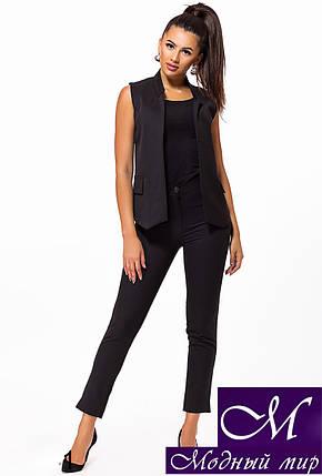 Женский костюм брюки + жилет (р. 42, 44, 46, 48) арт. 23-241, фото 2